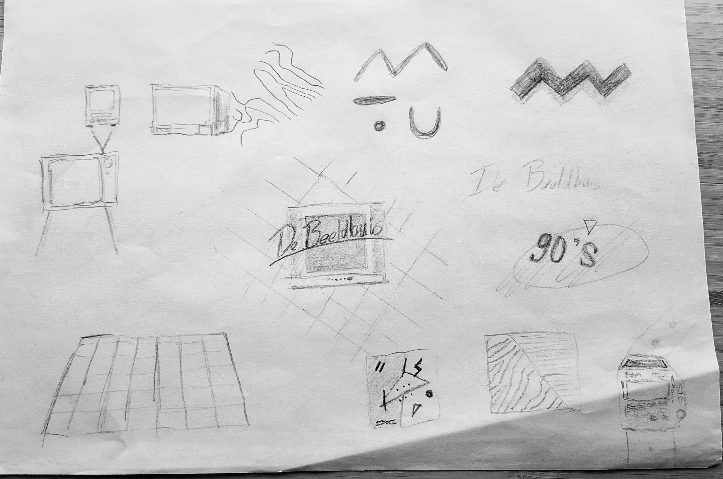beeldbuis-sketch