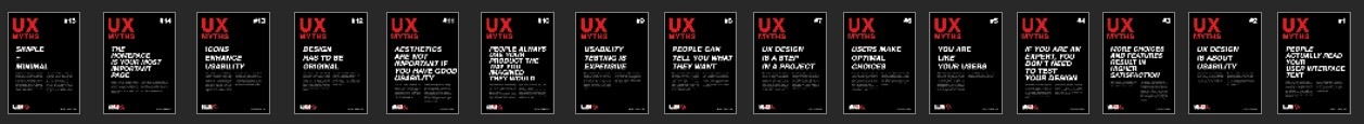 uxMythsPosters
